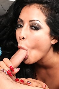 MILF Kiara Mia hops on his big cock and rides hard.