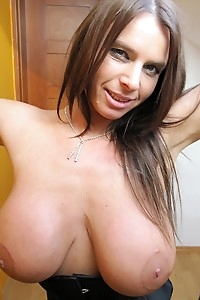 Susanne has a huge tits and a big pussy that she loves to expose.